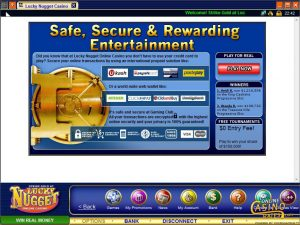 Lucky Nugget Online Casino Banking